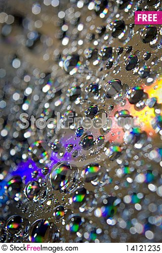 Free Water Drops Royalty Free Stock Photo - 14121235
