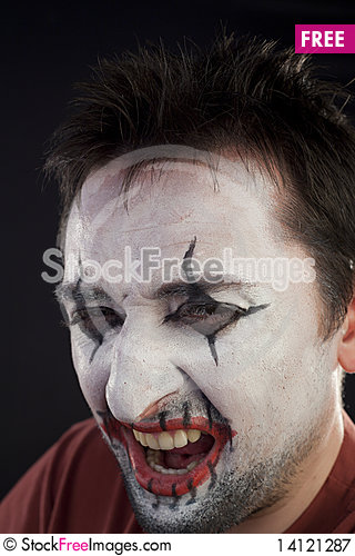 Free Portrait Of A Mime Royalty Free Stock Photography - 14121287