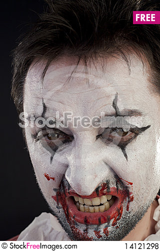 Free Portrait Of A Mime Royalty Free Stock Photos - 14121298