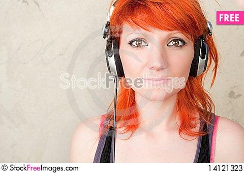 Free DJ Girl Stock Photos - 14121323