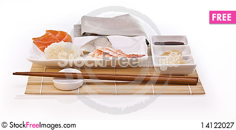 Free Sushi Royalty Free Stock Photography - 14122027