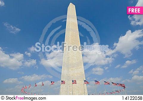 Free Washington Monument Royalty Free Stock Photos - 14122058