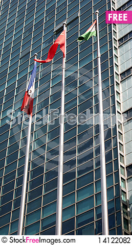Free Windows And Flags Stock Photography - 14122082