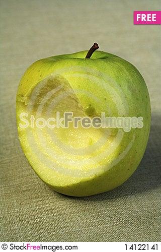 Free Bitten Apple Stock Image - 14122141