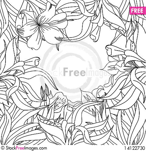 Free Template For Greeting Card Stock Photo - 14122730