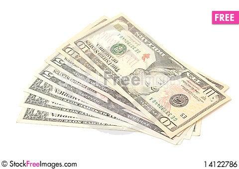 Free Money Royalty Free Stock Image - 14122786