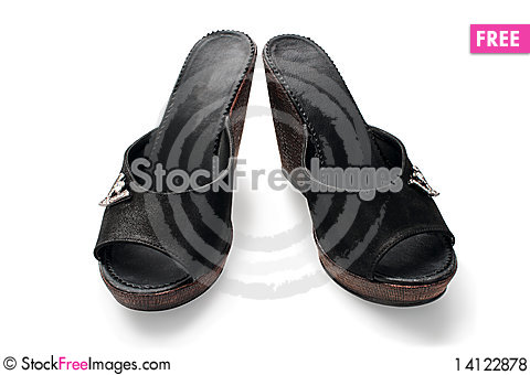 Free Shoes. Royalty Free Stock Photos - 14122878