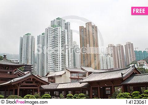 Free Chi Lin Nunnery Stock Image - 14123061
