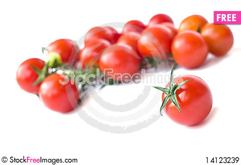 Free Cherry Tomatoes Royalty Free Stock Images - 14123239