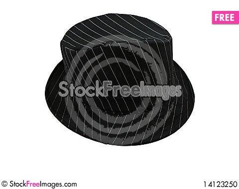 Free Hat Pinstriped Stock Photo - 14123250