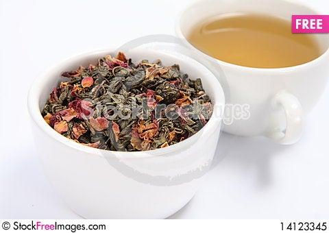 Free Green Tea Royalty Free Stock Photo - 14123345