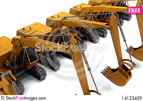 Free Diggers Royalty Free Stock Images - 14123459