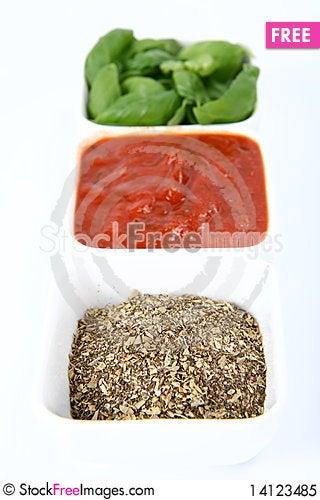 Free Italian Cuisine Ingredients Royalty Free Stock Photo - 14123485