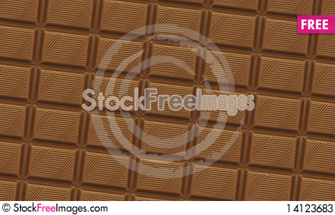 Free Chocolate Background Stock Photos - 14123683