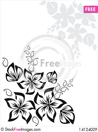 Free Floral Elements Royalty Free Stock Images - 14124029