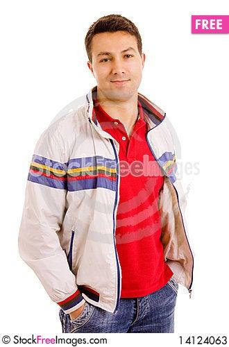 Free Young Casual Man Stock Photos - 14124063