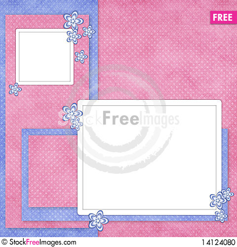 Free Holiday Card From Flowers And Pearl Stock Photo - 14124080