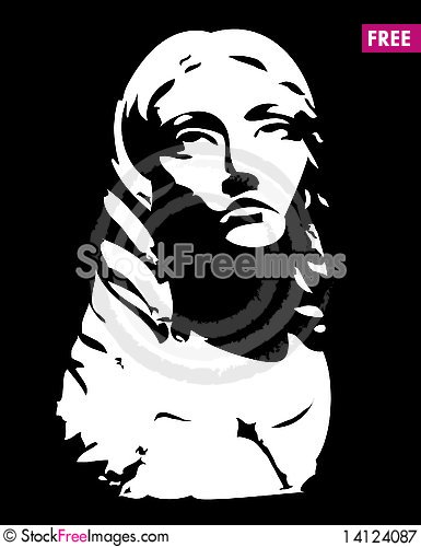 Free Sculpture Of Head Of Woman Royalty Free Stock Photography - 14124087