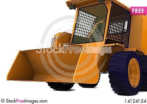 Free Bulldozer Stock Images - 14124154