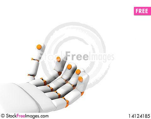 Free 3d Han Robo Hand Royalty Free Stock Photo - 14124185