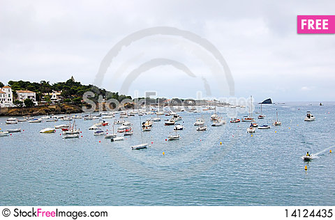 Free Cadaques View Royalty Free Stock Photo - 14124435