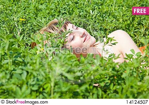 Free Enjoying The Nature Royalty Free Stock Photography - 14124507