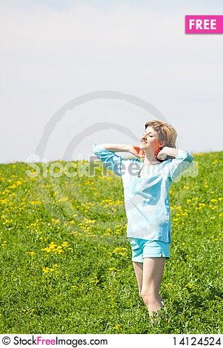 Free Enjoying The Nature Stock Images - 14124524