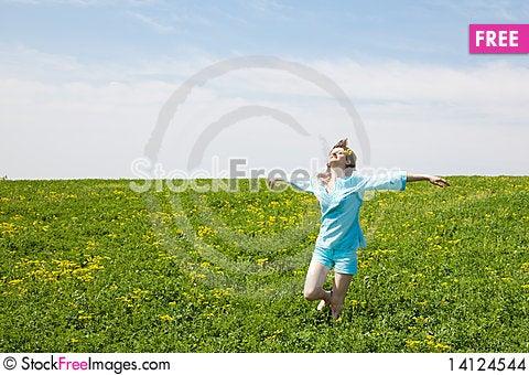 Free Enjoying The Nature Stock Images - 14124544