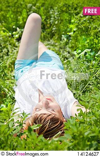 Free Enjoying The Nature Royalty Free Stock Photography - 14124627