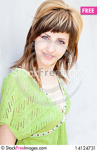 Free Young Woman Portrait Stock Image - 14124731