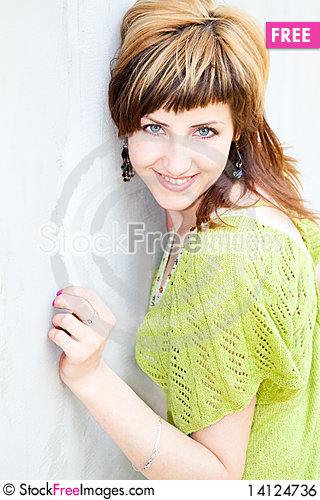 Free Young Woman Portrait Royalty Free Stock Image - 14124736