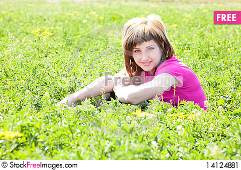 Free Young Woman Outdoors Stock Image - 14124881