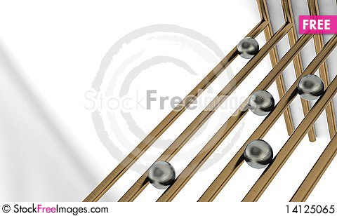 Free Beads On The Wire Royalty Free Stock Photo - 14125065