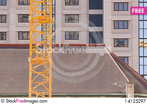 Free Crane Roof Royalty Free Stock Photography - 14125297