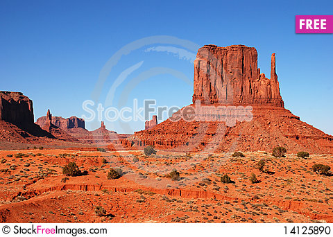 Free Monument Valley Stock Photo - 14125890