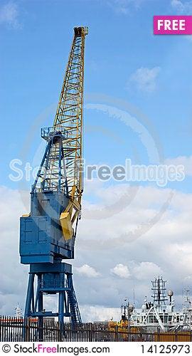 Free Dockside Crane Stock Photos - 14125973