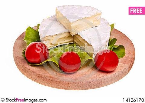 Free Round Camembert Cheese. Stock Photo - 14126170