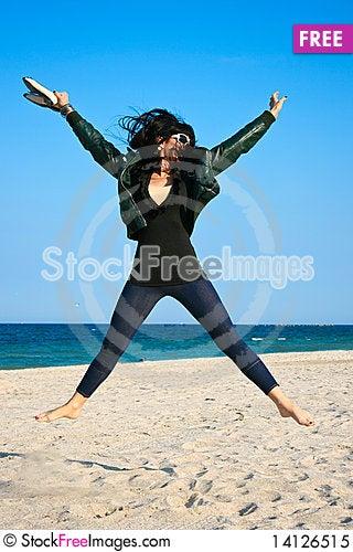Free Jumping Royalty Free Stock Photo - 14126515