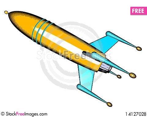 Free Rocket Royalty Free Stock Photos - 14127028