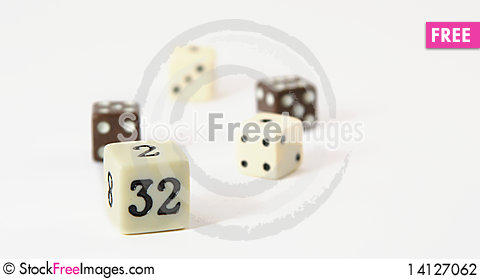 Free Dice Stock Photography - 14127062