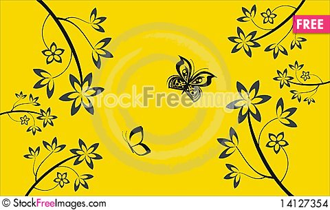Free Floral Elements Stock Images - 14127354