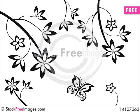 Free Floral Elements Stock Photos - 14127363