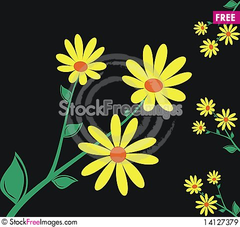 Free Floral Elements Royalty Free Stock Images - 14127379