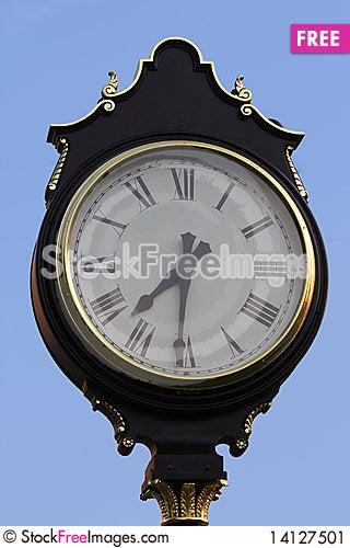 Free Classic Clock Stock Image - 14127501