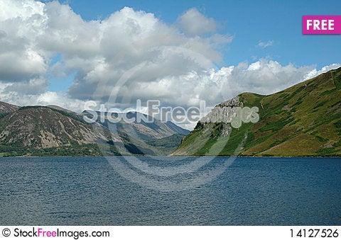Free Uk Lakes Range Royalty Free Stock Image - 14127526