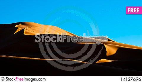 Free Algeria Sahara Dune Sunset Landscape Royalty Free Stock Image - 14127696