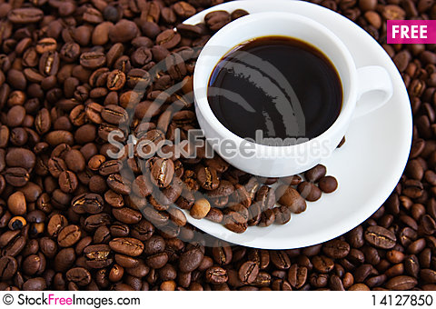 Free Cup Of Coffee Stock Photo - 14127850