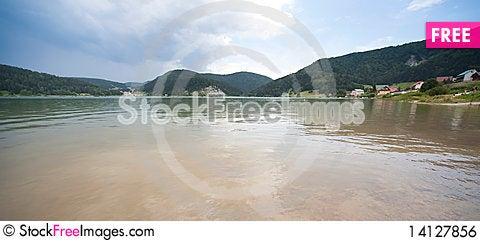 Free Mountain Lake In Dedinky (Slovakia) Royalty Free Stock Image - 14127856
