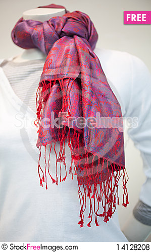 Free Foulard Royalty Free Stock Photos - 14128208