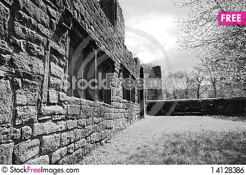 Free The Old Ruins Royalty Free Stock Image - 14128386